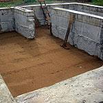 Проект 152 - Подвал: зачистка и песчанная подушка 009
